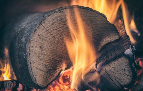 log burner installation